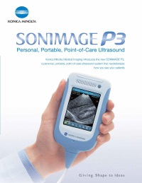 Henry Schein becomes Konica's distributor for Sonimage Point of Care Ultrasound
