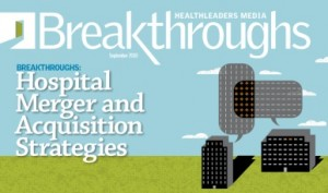 Financial Need is No Longer Leading Driver in Healthcare Acquisitions